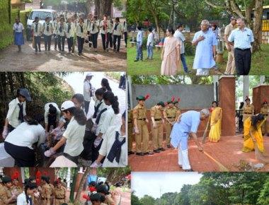 St Agnes PU College holds 'Swach Mangaluru Abhiyan'