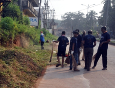 7 areas cleaned on occasion of Swachh Mangaluru Abhiyaan