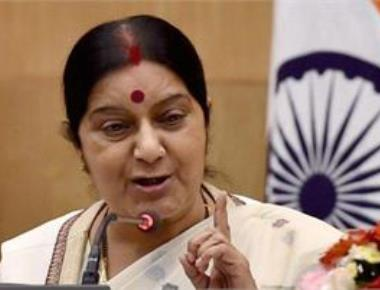Swaraj's request to Aziz over visa for Jadhav's mother gets no response