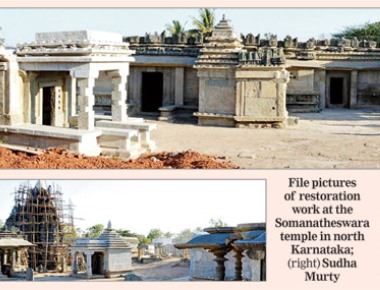 Infosys cash for temple