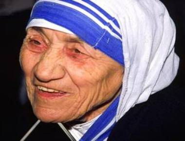 Mother Teresa is declared Saint Teresa
