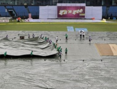 2nd day's play called off in Indo-Bangla cricket Test