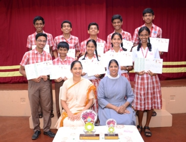 St Theresa School bags two champions' trophies