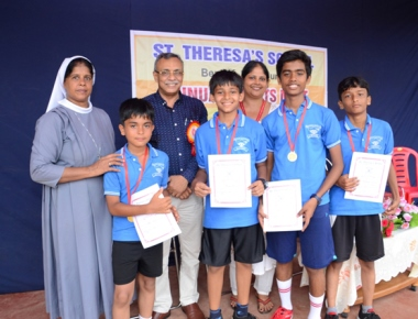 St Theresa's School conducts annual sports meet