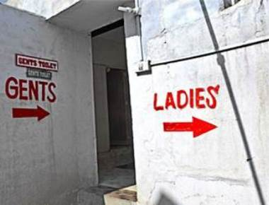 Using public toilets while vacationing? Take precautions