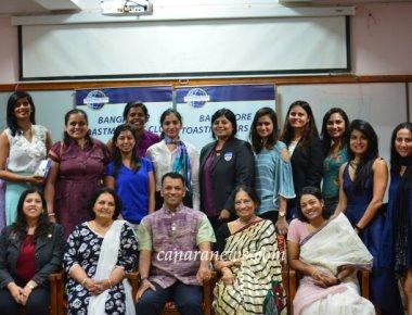 Bangalore Toastmasters Club Celebrates Womens Day