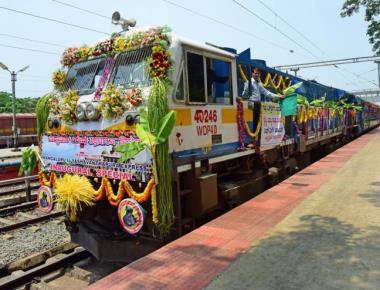 Faster train between Mangaluru and Bengaluru flagged off