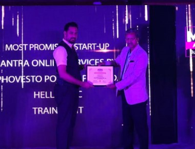 Trainident of YIT bags 'Most Promising Startup' award