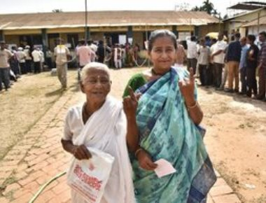 76 per cent voter turnout in battleground Tripura