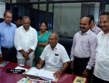 New President of Karnataka Tulu Sahitya Academy takes charge