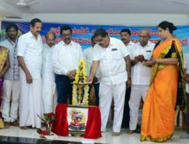 Tulunadochhaya 2017 office inaugurated by Ramanath Rai