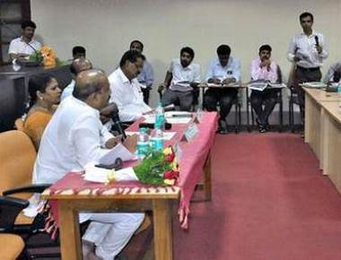 Varahi water to Udupi project figures in review meet