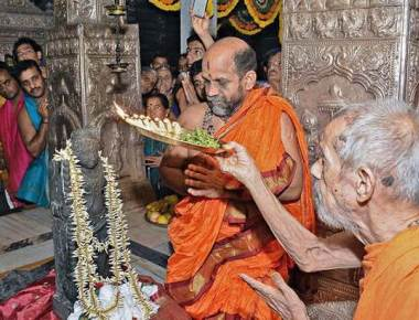 Krishna idol to be installed in Edison, given rousing welcome in Udupi