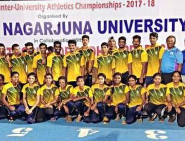 Mangaluru varsity tops national athletics meet