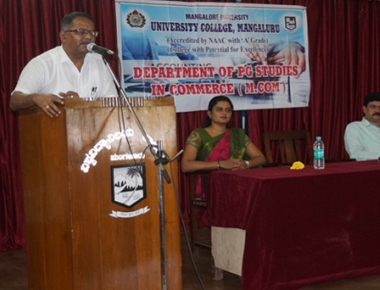 Personality development programme held at University College