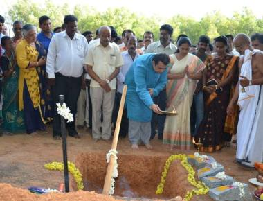 Foundation stone laid for GTTC in Uppoor