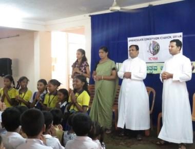 ICYM Urwa Unit celebrates Vanamahotsava and a day with children
