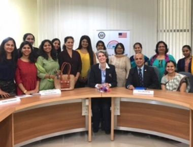 US Counsel visits Innovation Centre at Manipal Institute of Technology