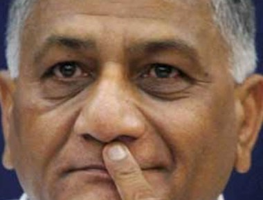 VK Singh shocker on Dalit killing: 'Govt can't be blamed if a dog is stoned'