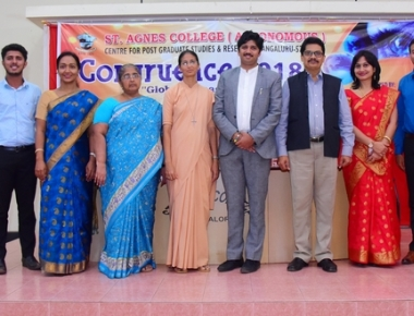 Valedictory programme of 'Congruence' held at St Agnes College held