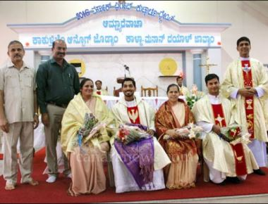 St Joseph the worker church Vamanjoor celebrates feast