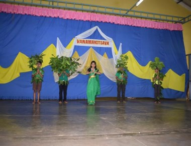 Maryvale Higher Primary school celebrates Vanamahotsav