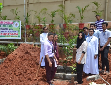 Vanamahotsava marks Forest Day at Milagres Degree College