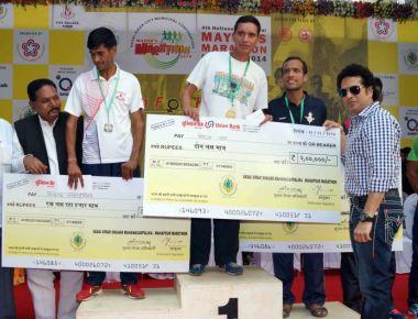 4th National Vasai-Virar Mayor's Marathon 2014.