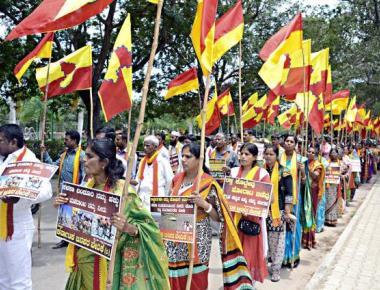 Vedike begins 1,600-km padayatra for Kalasa-Banduri