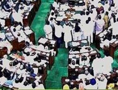Oppn protests BJP leader Tarun Vijay's remarks, disrupts LS