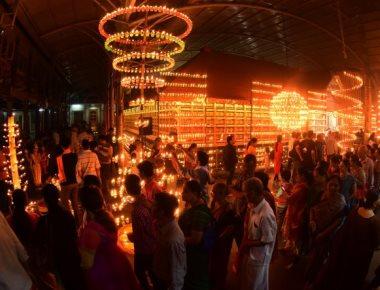 Vijayadashami deepotsava adds sheen to Mangaluru Dasara