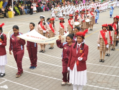 International Chess player Vijayeendra inaugurates St Joseph's School annual sports meet