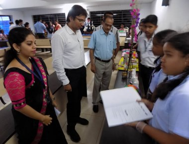 Budding innovators impress at Vikas PU College 'Panchso Ka Josh'