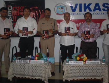 Vikas PU College observes World Anti-Drug Addiction Day