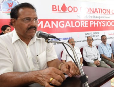 Vikas College of Physiotherapy holds blood donation camp