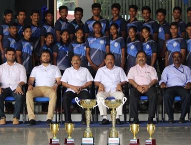 Vikas PU College shines in Kabaddi tournament