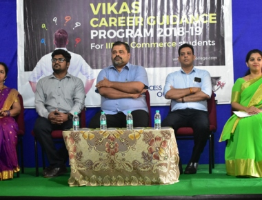 Vikas PU College holds career guidance programme