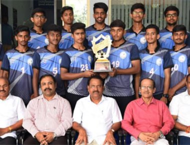 Vikas PU College wins district Netball tournament