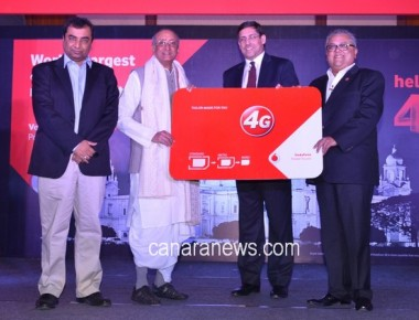 Vodafone India Launches 4G Services in Kolkata Rolls out a Bonanza of special offers from 26th January