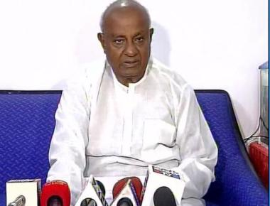 It's difficult for a Vokkaliga to become CM: Deve Gowda
