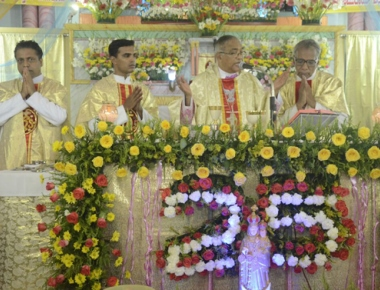 Velankanni Matha Novena silver jubilee celebrated in Vorkady