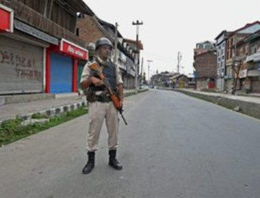 Burhan anniversary: Curfew in Tral,restrictions across Kashmir