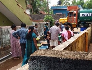 CMC councillor's husband selling free water for Rs 20!