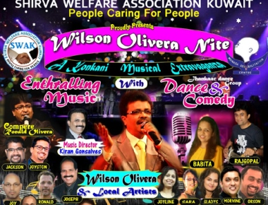 Kuwait: SWAK to present Wilson Olivera Nite on Oct 20 for worthy cause