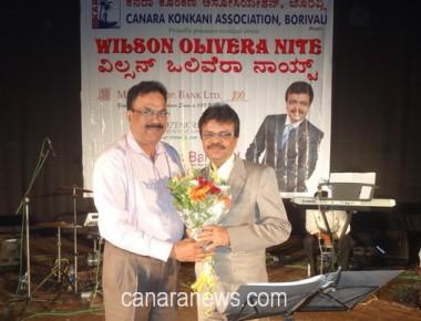 Wilson Olivera Nite staged at Borivali by Canara Konkani Association