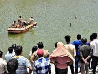 Woman, son drowned in quarry pit at Padualevoor