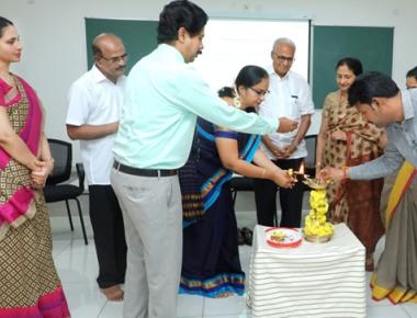 Workshop for Shakthi Residential School Shakthinagar teachers held