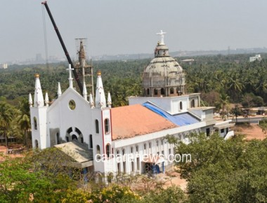 St. Francis Xavier Church Udyavar is all set to be inaugurated on April 28, 2016.
