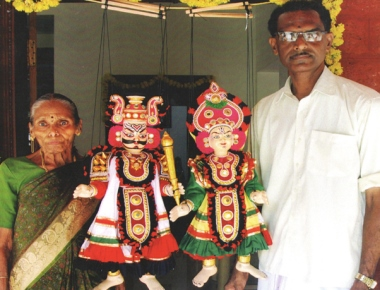Kasargod's Yakshagana puppets finds place in American museums