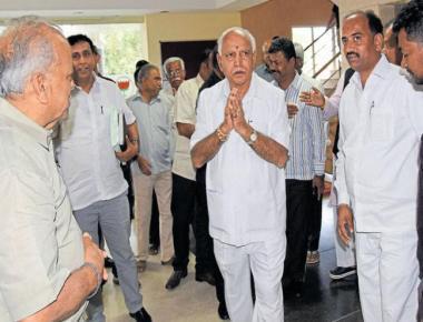PM, Shah have cleared my CM path, age no bar: Yeddyurappa